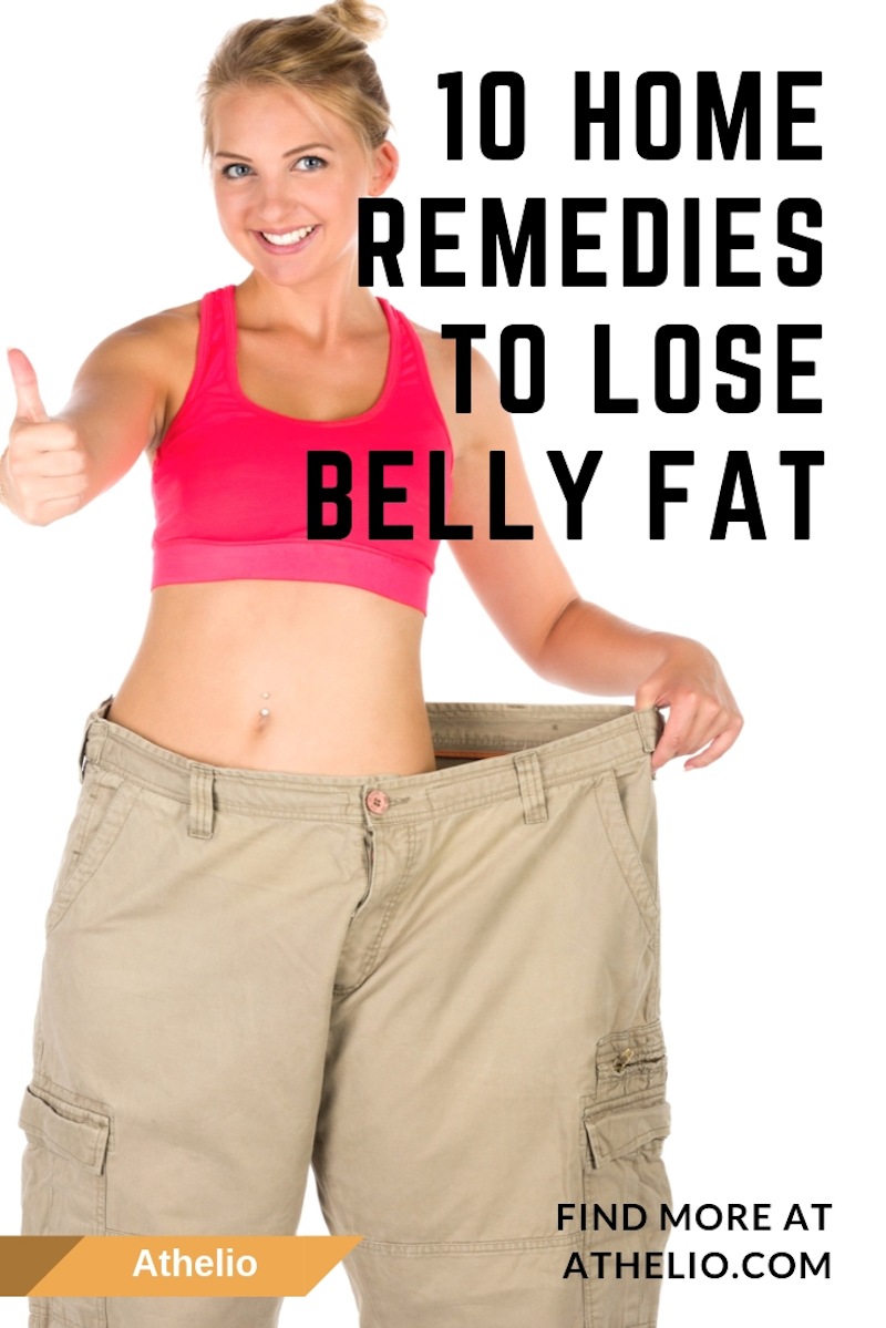 10 Home Remedies To Lose Belly Fat