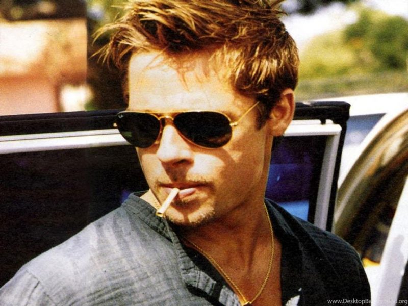 175530 Brad Pitt Smoking Wallpapers Jpg 1024x768 H