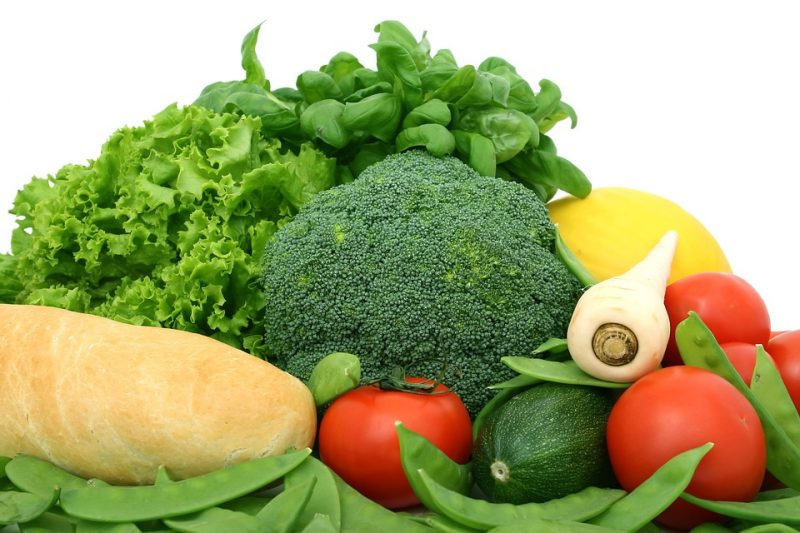 Fibre Green Fresh Food Diet Broccoli Vegetables