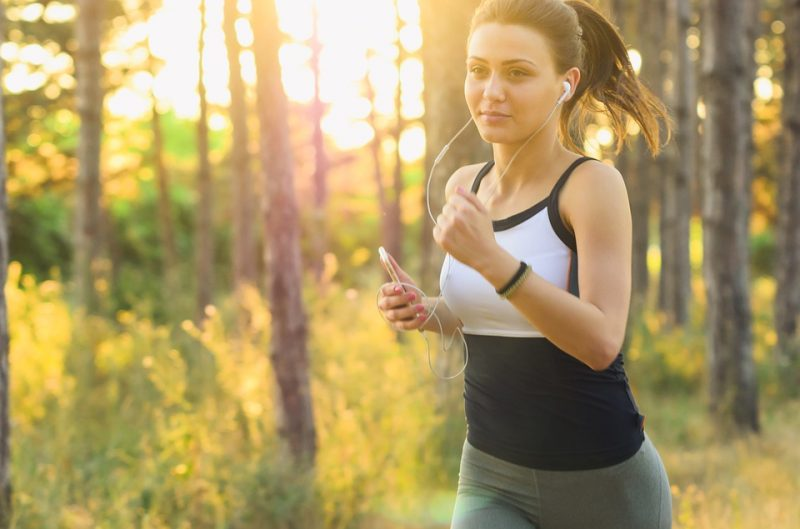 Jogging Woman People Exercise Running Fitness