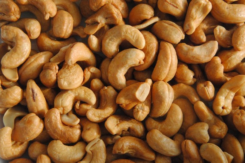 Food Salty Cashew Cores Nutmeat Snack Nuts