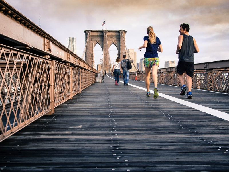 Young Sports Running Lifestyle Persons People