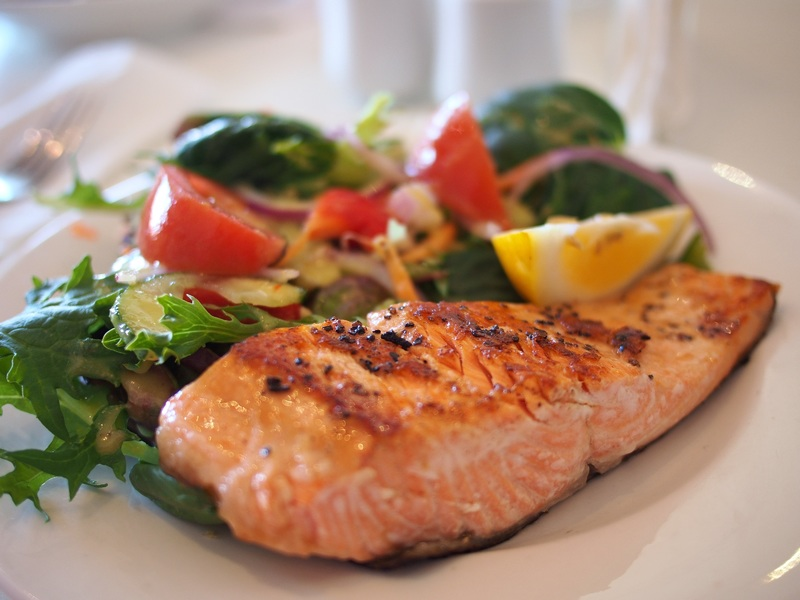 Grilled Salmon With Sauteed Veggies Athelio